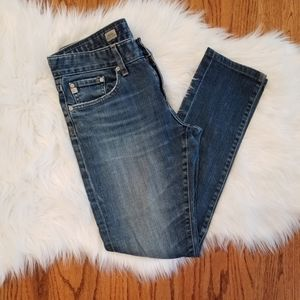 AG Nikki Relaxed Skinny Jeans size 26R
